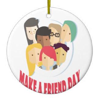 'Make friends day'
