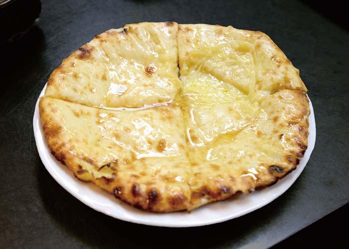 Honey Cheese Naan